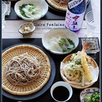 蕎麦と天ぷらで一献♪