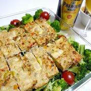 鶏ひき肉とレンコンのミートローフ&サントリープレモル~~♪