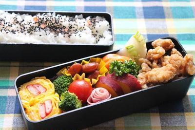 主人のお弁当〜冷めてもおいしい鶏胸肉の竜田揚げ〜