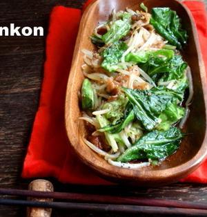【中華料理屋さんの簡単おかず】豚肉ともやしとキャベツの炒め物