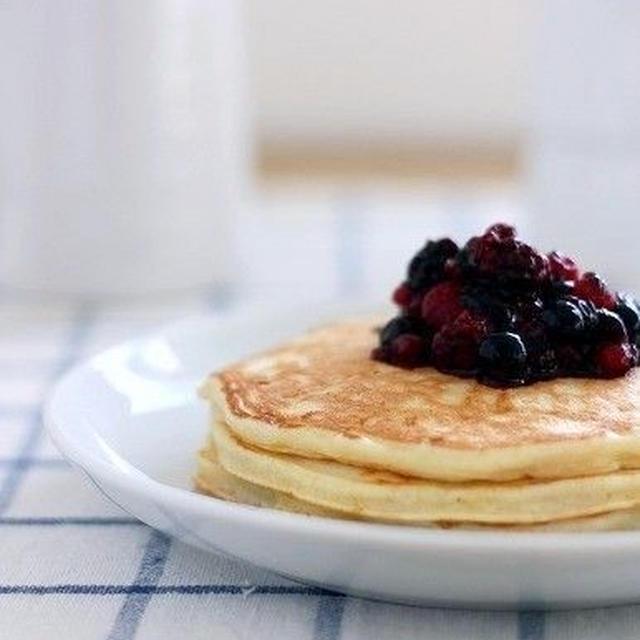 カッテージチーズ★パンケーキ
