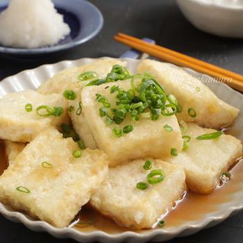 【レシピ】美味しい出汁で食べたい♪揚げ出し豆腐