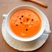 海老のトマトクリームスープ