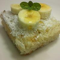 Vegan~バナナライスケーキ