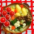 洋風〜♪濃厚にんにく鶏白湯トマト鍋