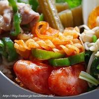 ブルドックうまソース トマトタイプでお弁当♪@レシピブログ