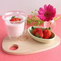 苺ミルクのホットスムージーでホッカホカ【±0暮らしのレポーター】