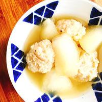 鶏団子と冬瓜の煮物