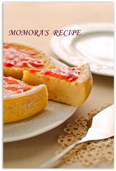 ホットケーキミックスと炊飯器で簡単お菓子♡ジャムでお手軽ヘルシー苺ヨーグルトケーキ♪母の日にも
