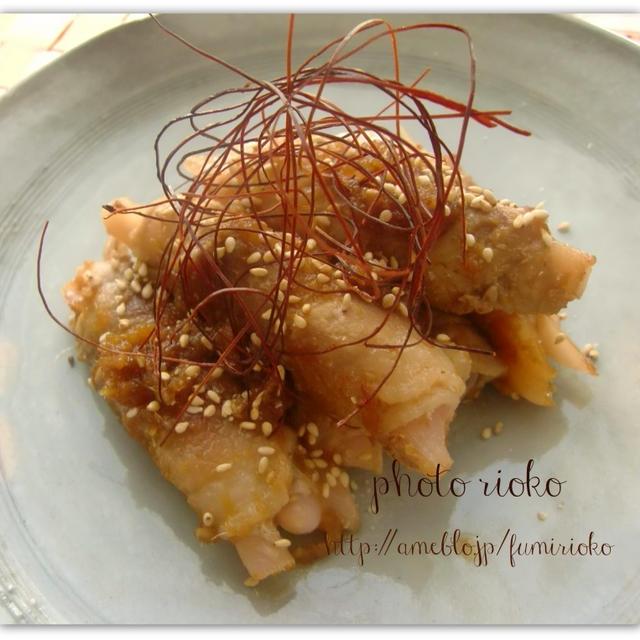 ●豚バラの変わり生姜焼き●