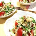 家にあるもので!大根と水菜のタイ風サラダ♪【スパイス大使】 by ぺるしゃんさん
