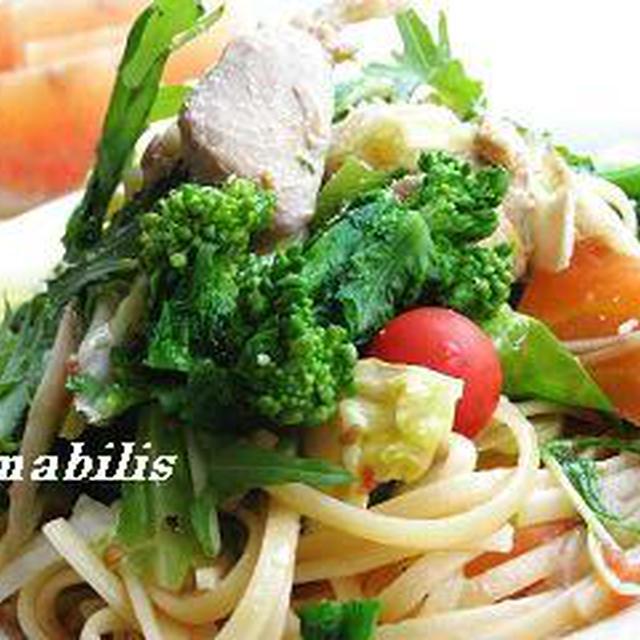 春野菜のパスタ ロッソ