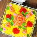盛るだけで簡単お菓子のように華やか♡スコップちらし寿司ケーキ&クックパッドニュース薔薇鍋でプロポーズ♡