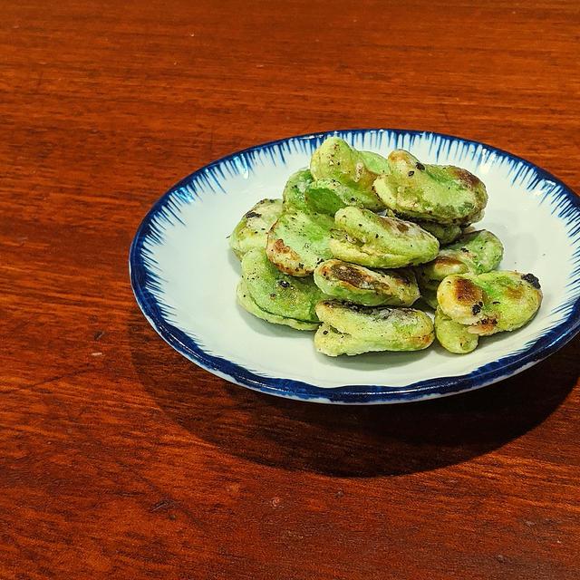 そら豆!最高おつまみ☆ペペロン風ホクホク空豆の作り方
