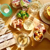 【簡単】【パーティーに】カマンベールチーズで作るチーズフォンデュ