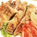 塩麹鶏もものグリル焼き