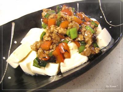 5分で二つの鍋で作る中華料理★豆腐の花椒&豆鼓餡