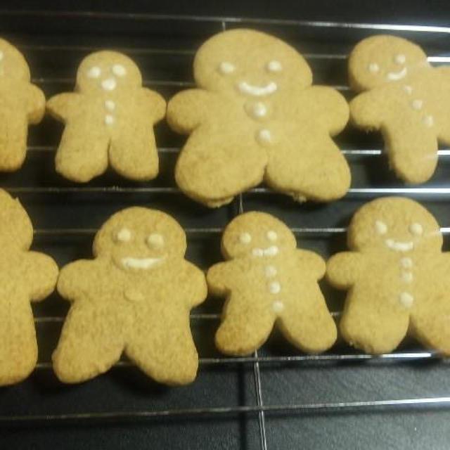 クリスマス クッキー<ジンジャー♪ブレッドマン> 金時しょうがパウダー「モニプラ」(キッチン ラボ)