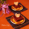 薄力粉と板チョコレートで簡単!濃厚はちみつチョコタルトケーキ&「くらしのアンテナ」御礼♪ by めろんぱんママさん