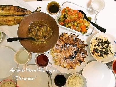 羽つき餃子♪残ったタネで、肉団子スープ。贅沢だ~!!