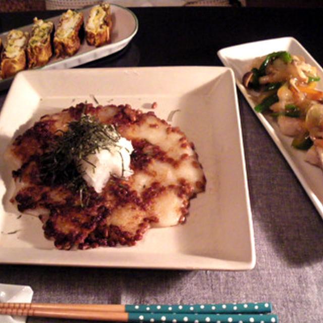 納豆おろし餅