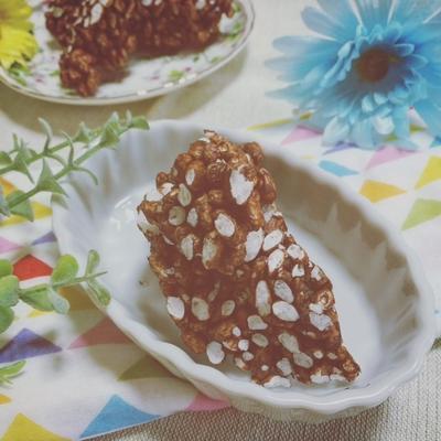 おやつに☆簡単♪ぽん菓子でチョコ棒作り