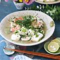 【レシピ】ワサビの麻婆豆腐。 と 円陣。