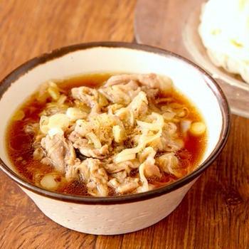 そうめん始めてますか?簡単・時短でおいしい「旨塩ねぎ豚つけ素麺」レシピ