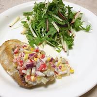 白身魚のソテー ヨーグルトソース
