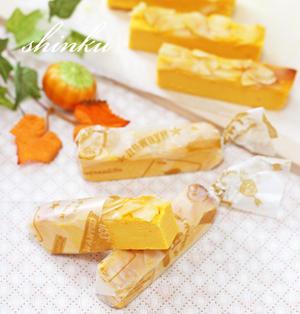 なめらか*かぼちゃチーズケーキ【生クリーム不要】