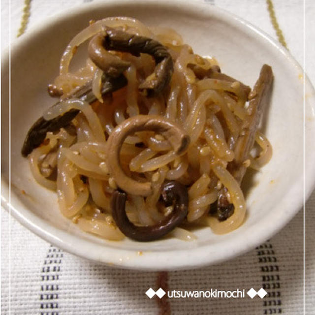 韓国風の常備菜