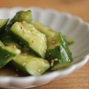 簡単和え物・副菜♪きゅうりの中華和え