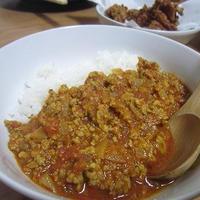 【レシピ】トマトスープ仕立てのキーマカレー