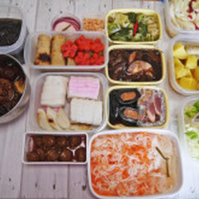 2016初の常備菜とあきさんのお野菜達