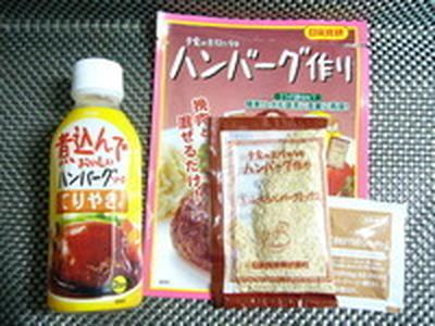 5色バランス★ハンバーグ