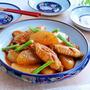 鶏手羽大根の韓国風うま煮
