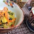 【レシピ】コク旨★一味違った美味しさ★簡単★アレンジ【アスパラとツナのオイスター金平】 by ☆s4☆さん