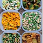 【今週の常備菜】緑ばっかりだわ!と1日早い雛祭りのちらし寿司は王子と一緒に♪