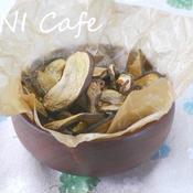カレー味の椎茸チップス