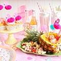 【プチレシピあり】モナンシロップを使ったカラフルパーティー