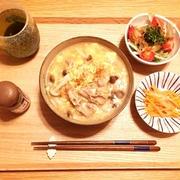 【レシピ】温まる生姜香る卵とじうどん