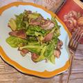 砂肝とキャベツ炒め(材料2つで簡単、ダイエット)