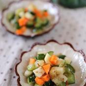 コロコロ野菜のさっぱりサラダ