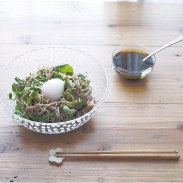 香り野菜の蕎麦サラダ*