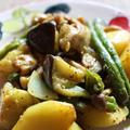 <夏野菜のサブジ>スパイシーで食欲増進計画