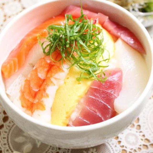 海鮮丼な簡単家飯 レシピ