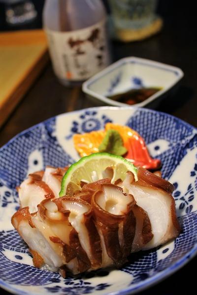 たこ刺し(北海蛸)