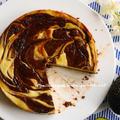 バレンタインに❤『アボカドのショコラチーズケーキ』、ロンドンのバレンタイン。