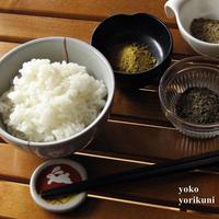 【レシピ】米ぬかふりかけ 3種