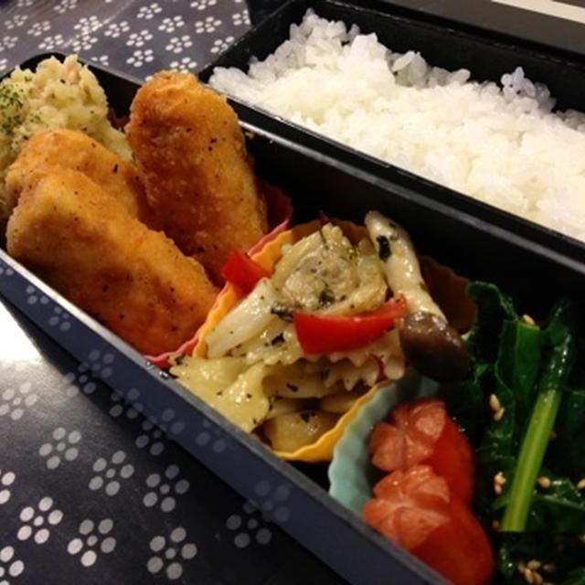 No.162お弁当と【レシピ】ツナ風味マッシュポテト♪そして・・・活力鍋が戻ってきた!